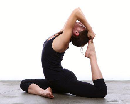 pigeon pose yoga