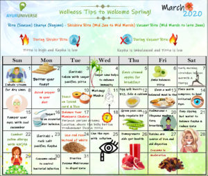 March Wellness Tips